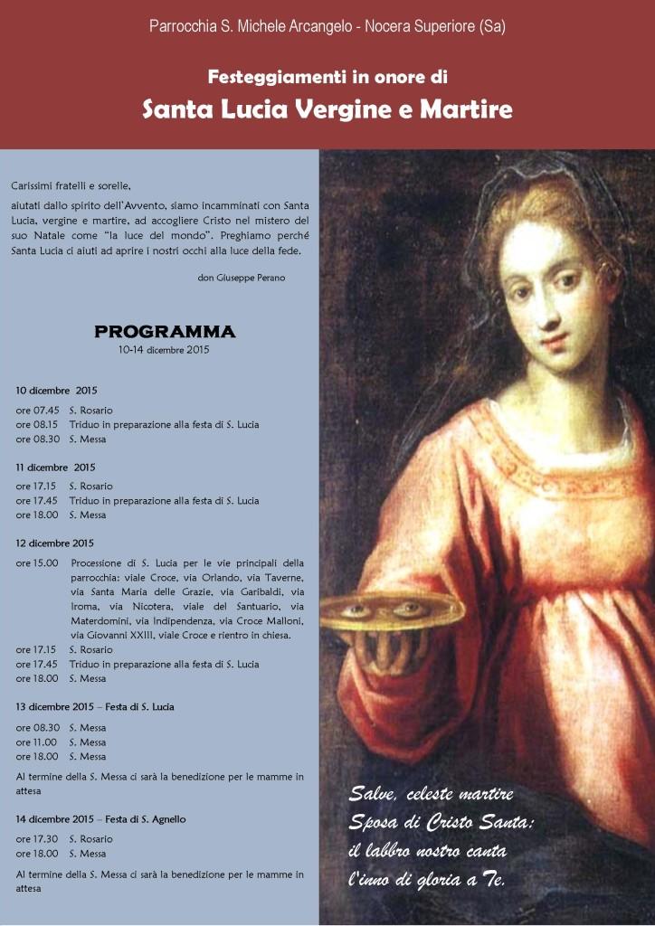 Festa Santa Lucia