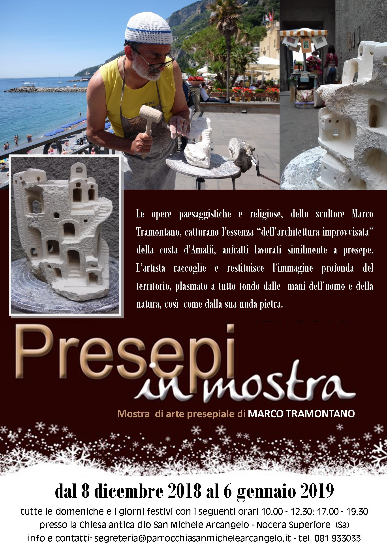 Mostra di arte presepiale di Marco Tramontano