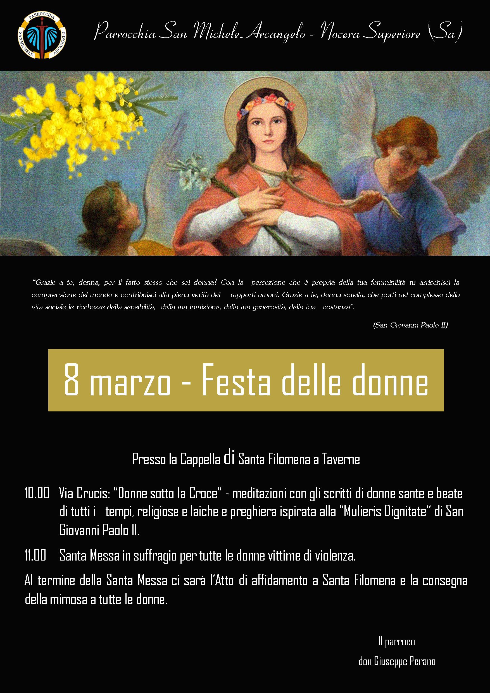 8 marzo – Festa delle donne