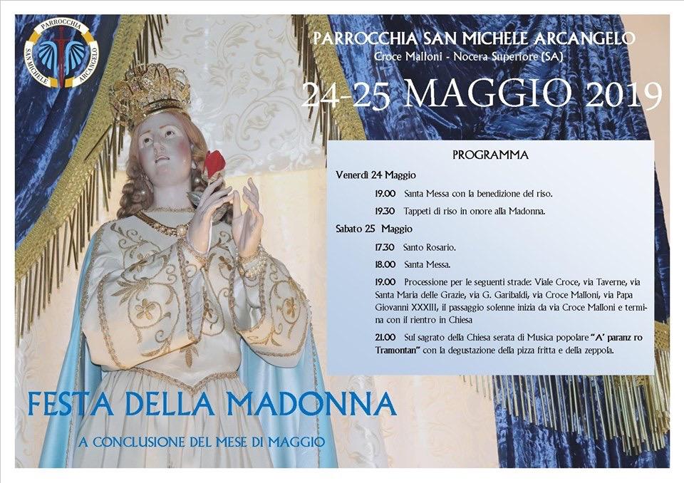Festa in onore della Madonna