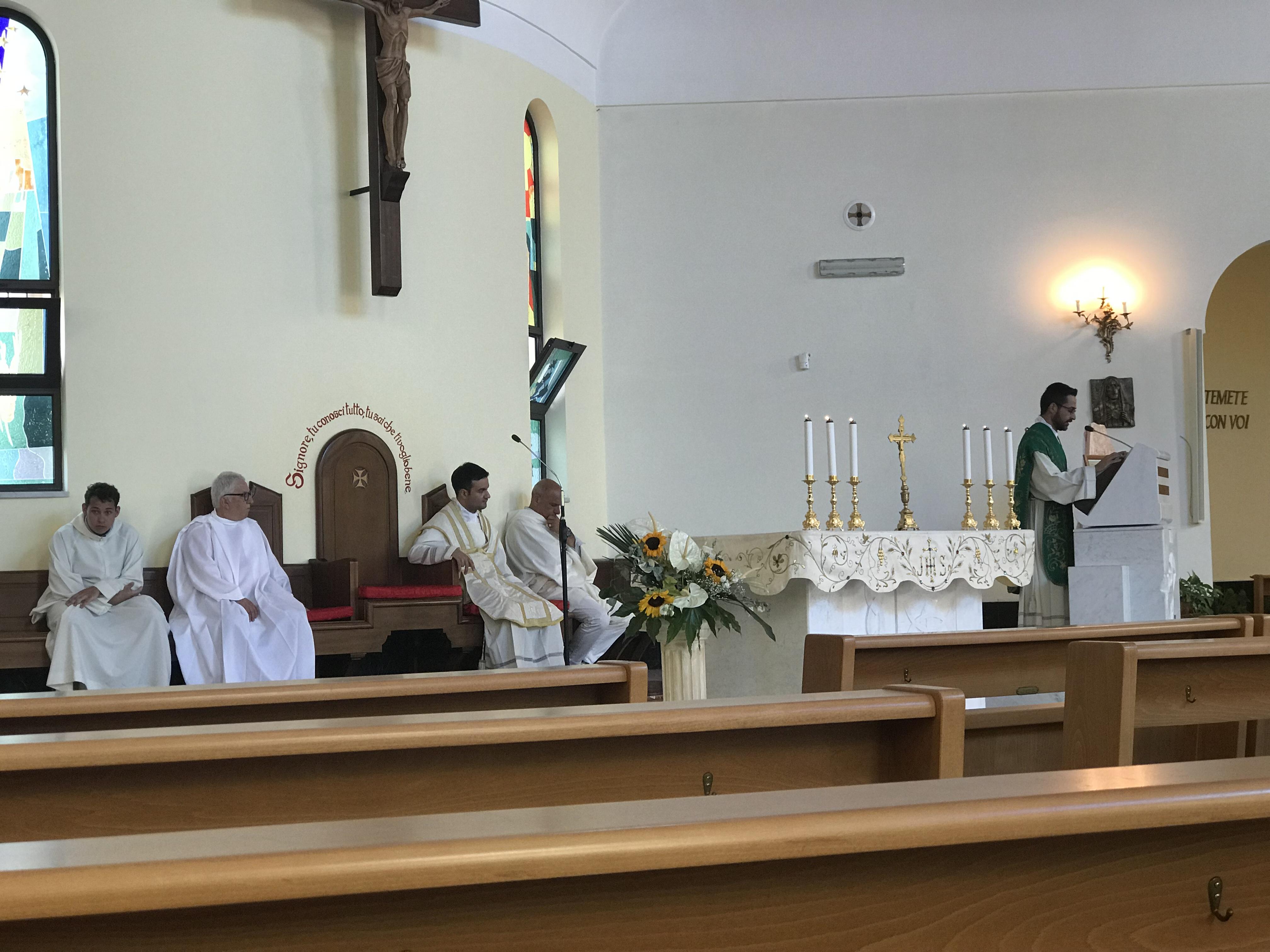 Celebrazione eucaristica domenica 07.07.19